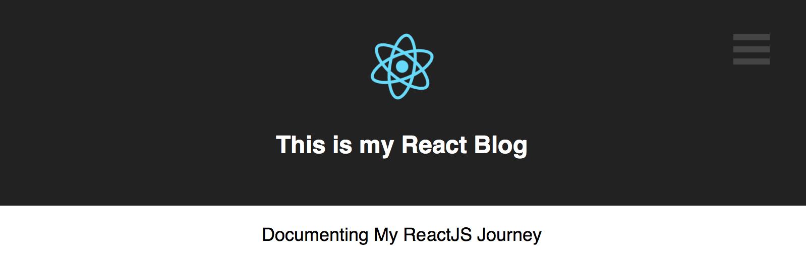 react-blog